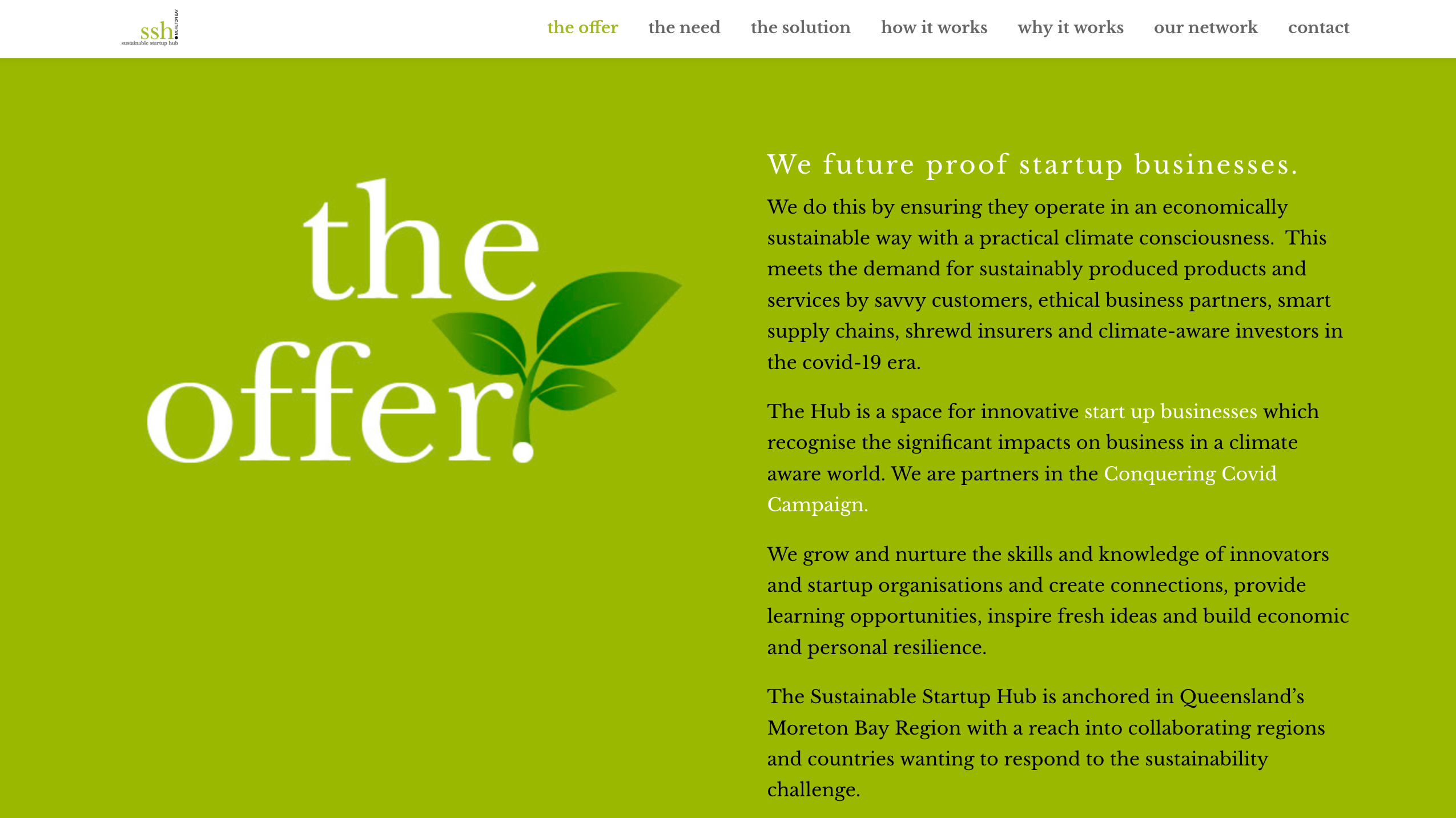 Sustainable Startup Hub